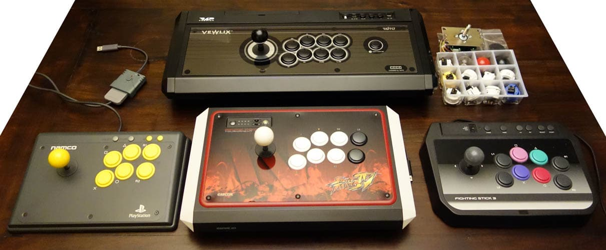 liste stick arcade ps4